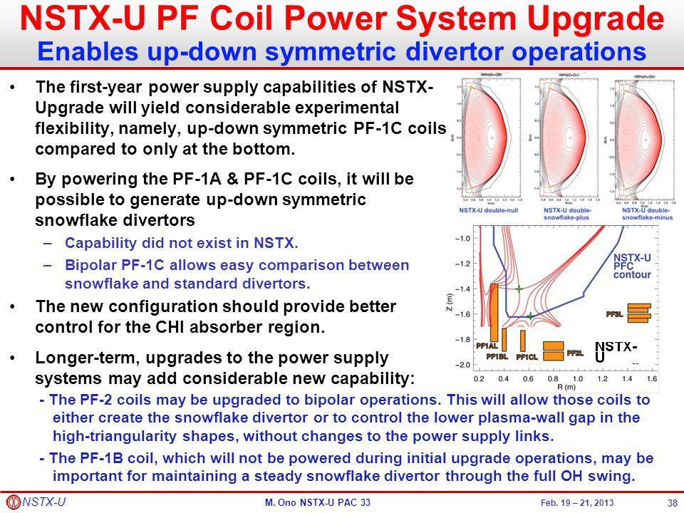 NSTX-U PF Coil Power System Upgrade Enables up-down symmetric divertor operations