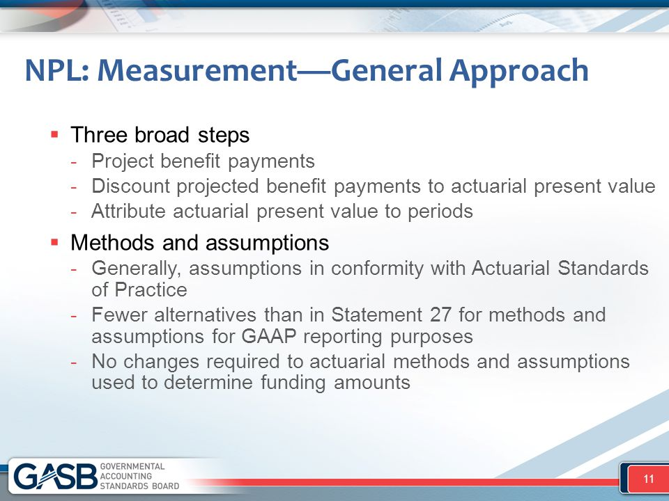 NPL: Measurement—General Approach