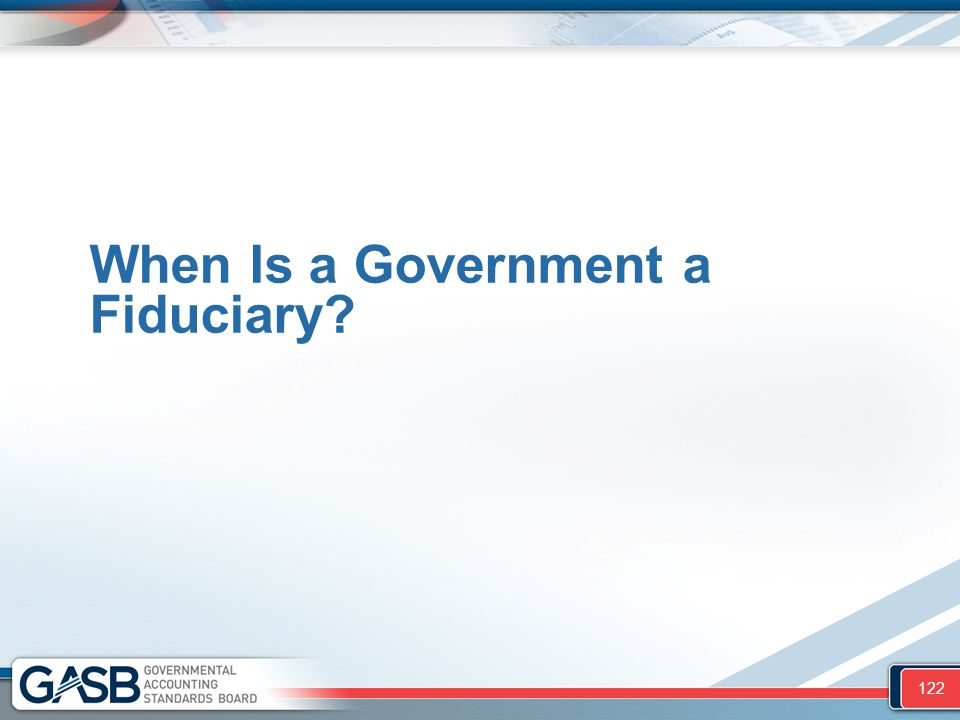 When Is a Government a Fiduciary