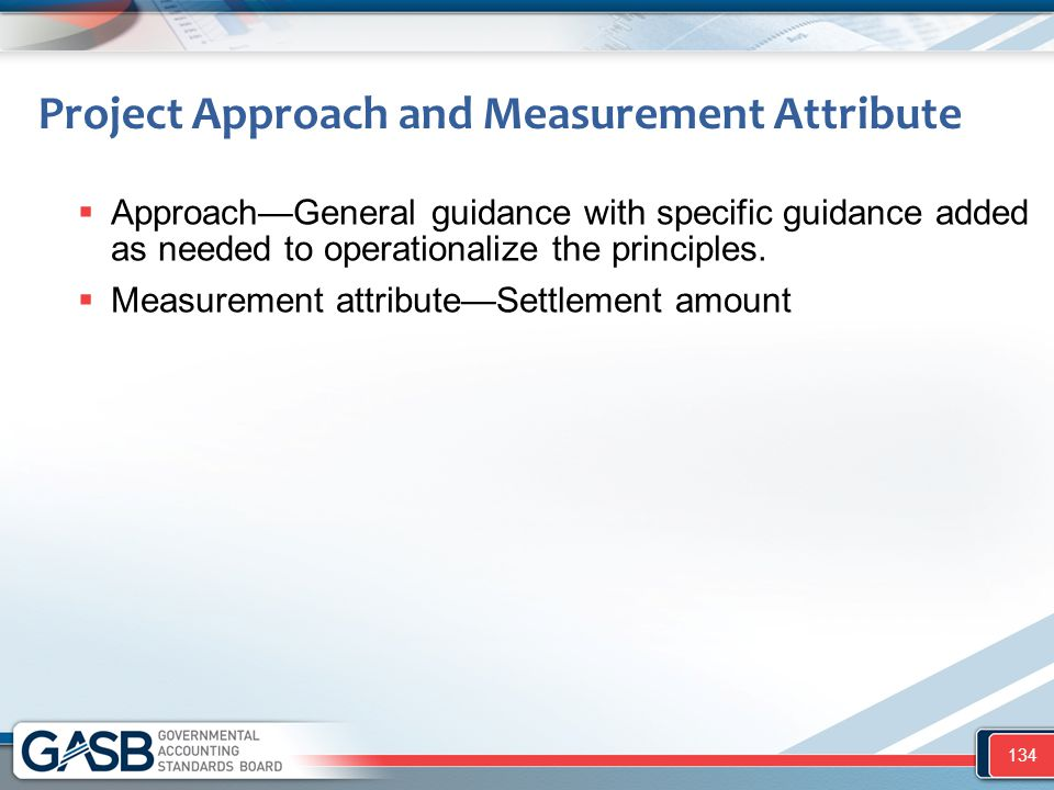 Project Approach and Measurement Attribute