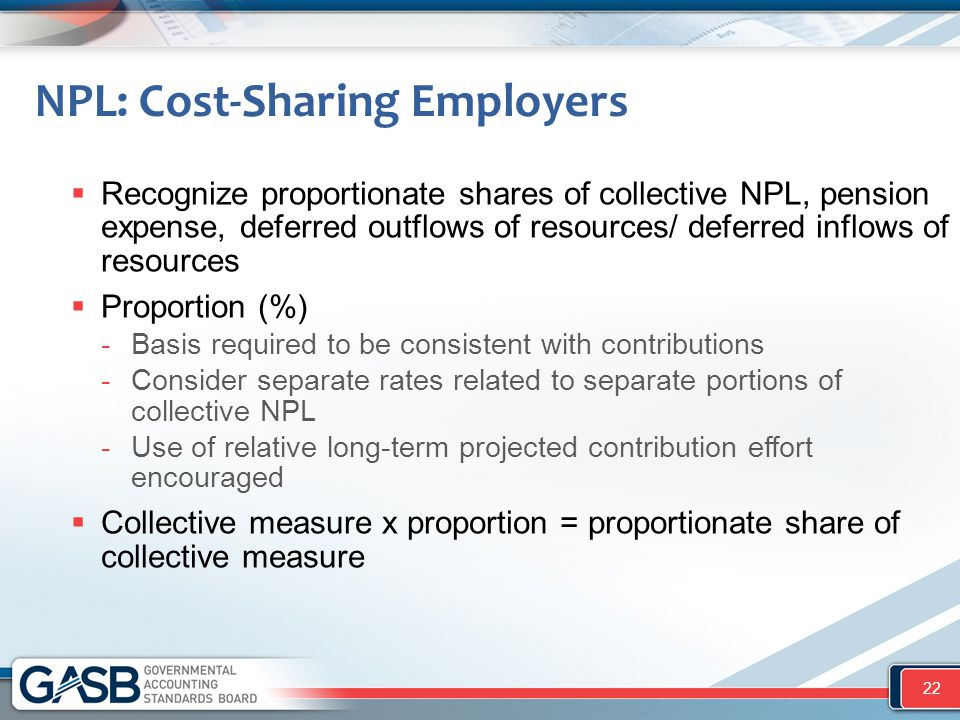 NPL: Cost-Sharing Employers