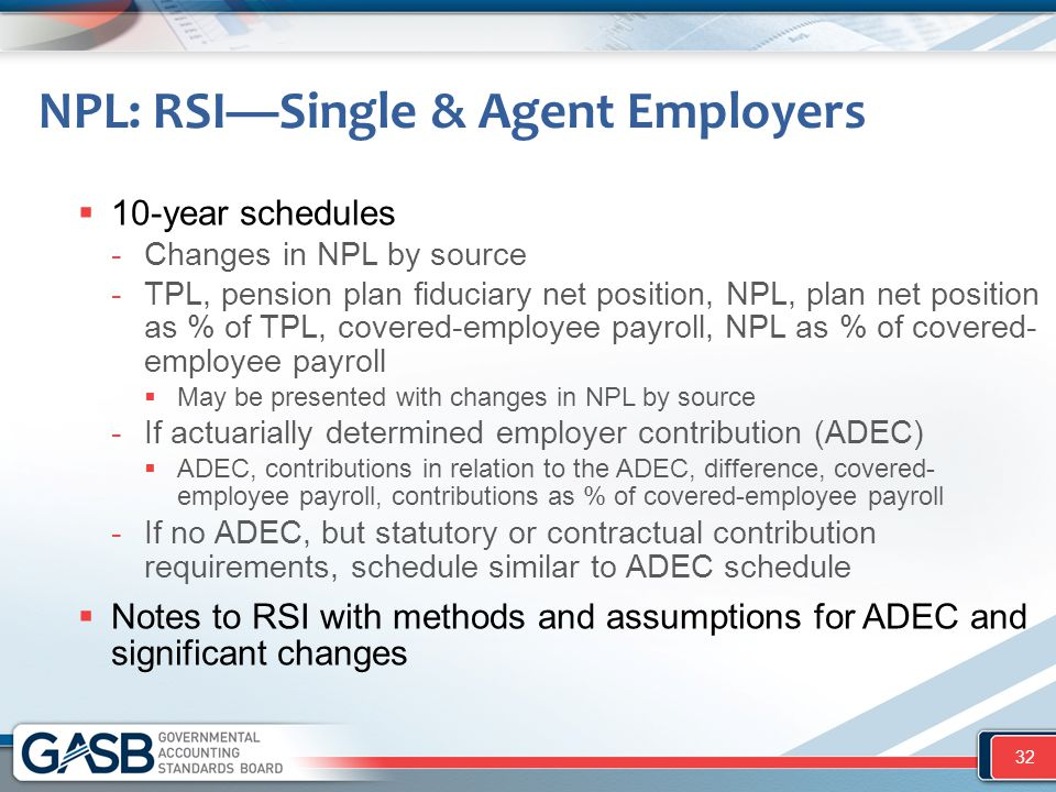 NPL: RSI—Single & Agent Employers