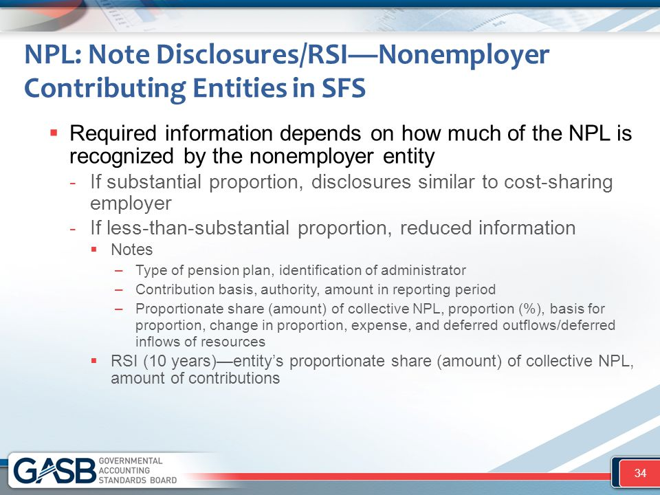 NPL: Note Disclosures/RSI—Nonemployer Contributing Entities in SFS