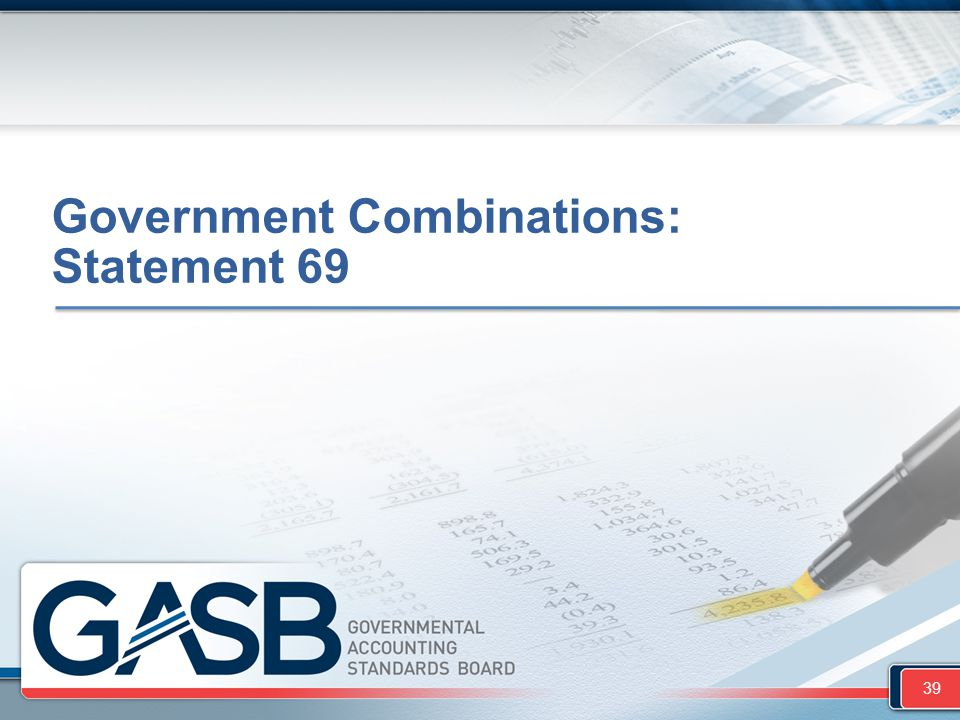 Government Combinations: Statement 69