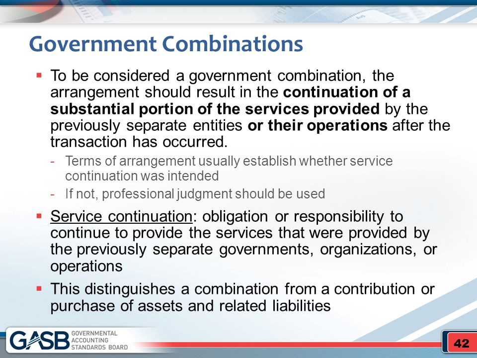 Government Combinations