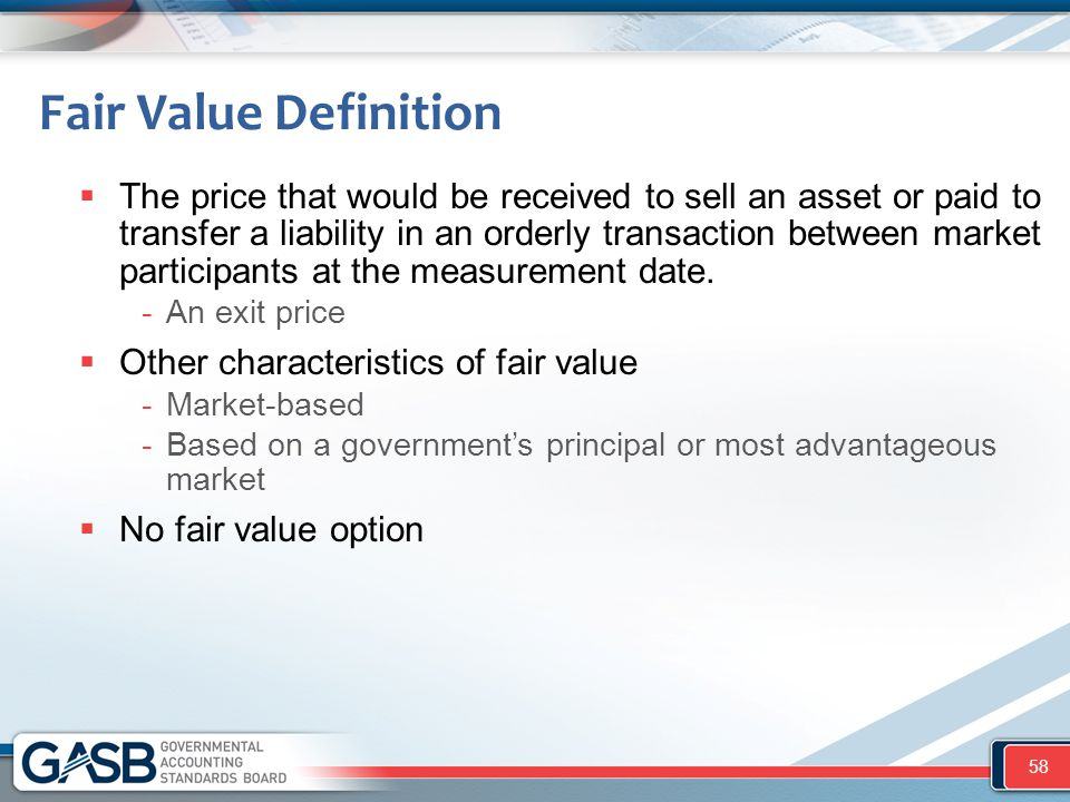 Fair Value Definition