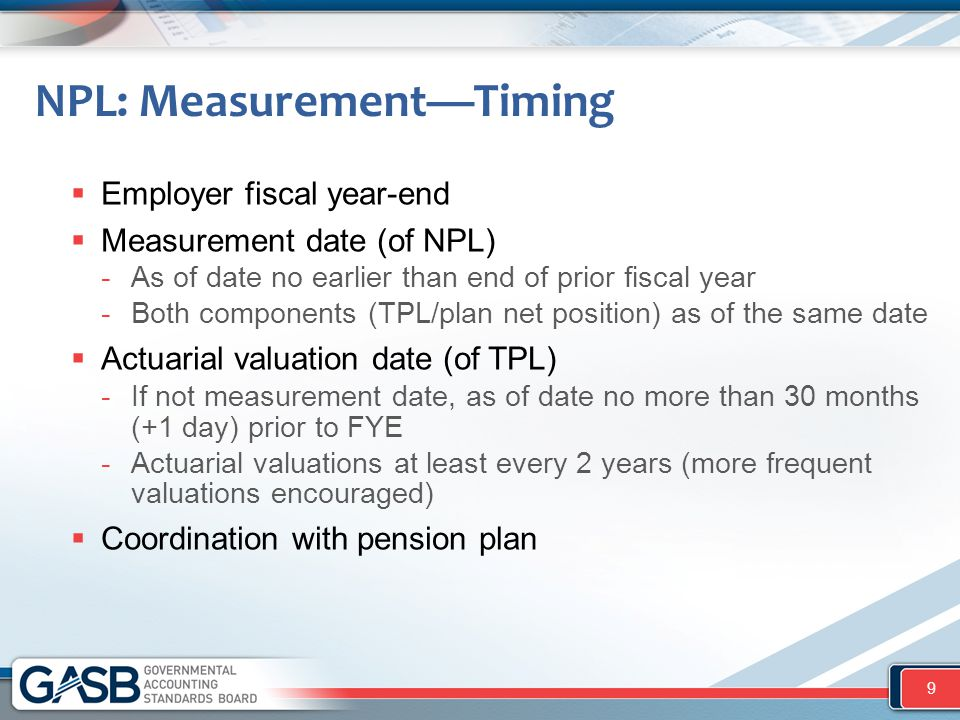 NPL: Measurement—Timing