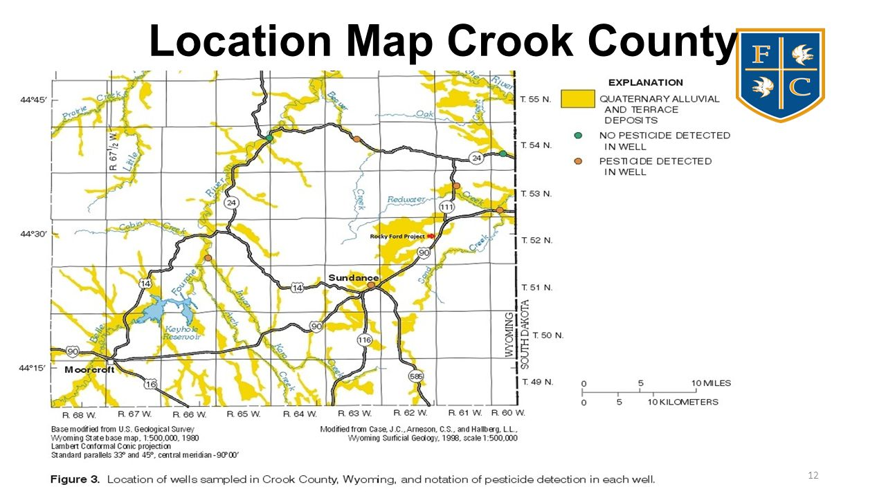 Location Map Crook County