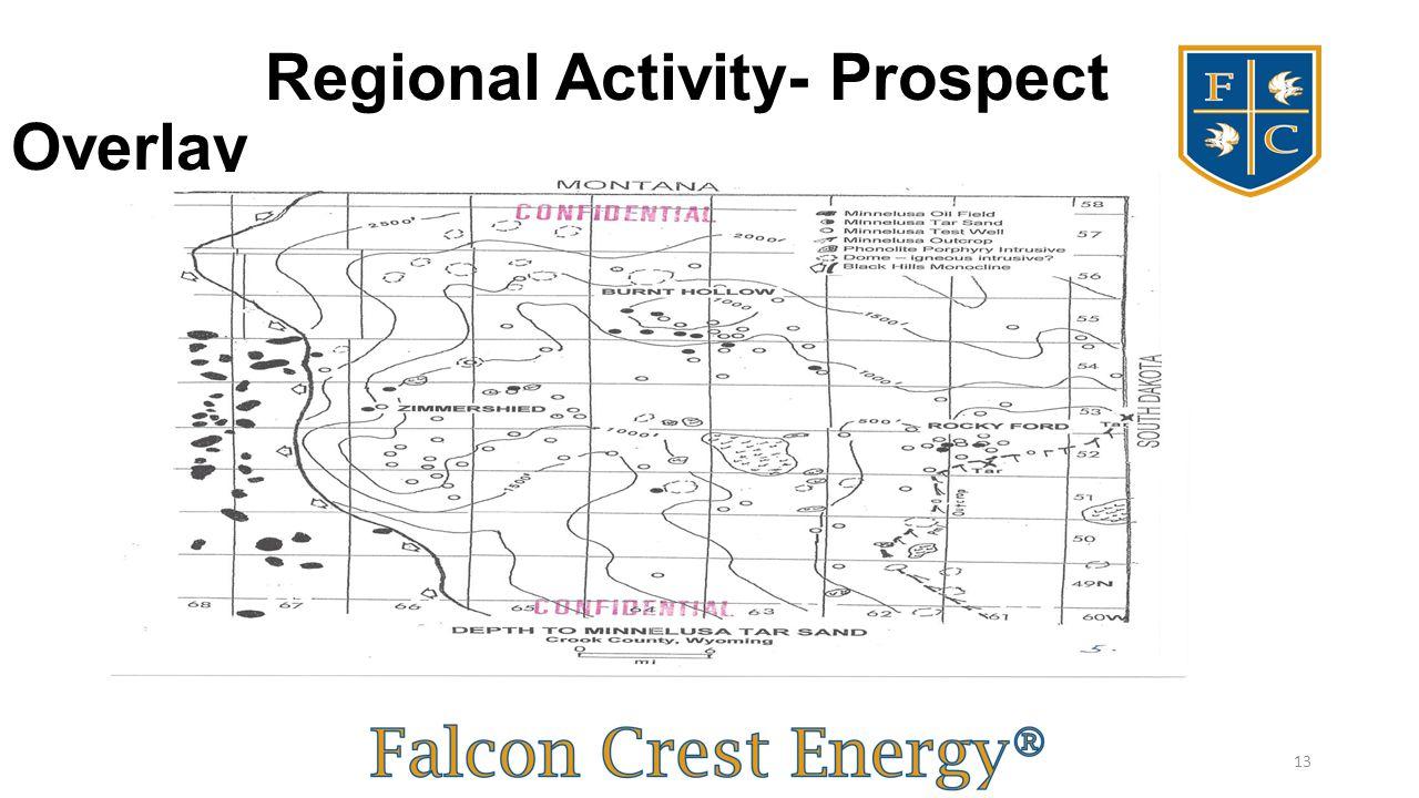Regional Activity- Prospect Overlay