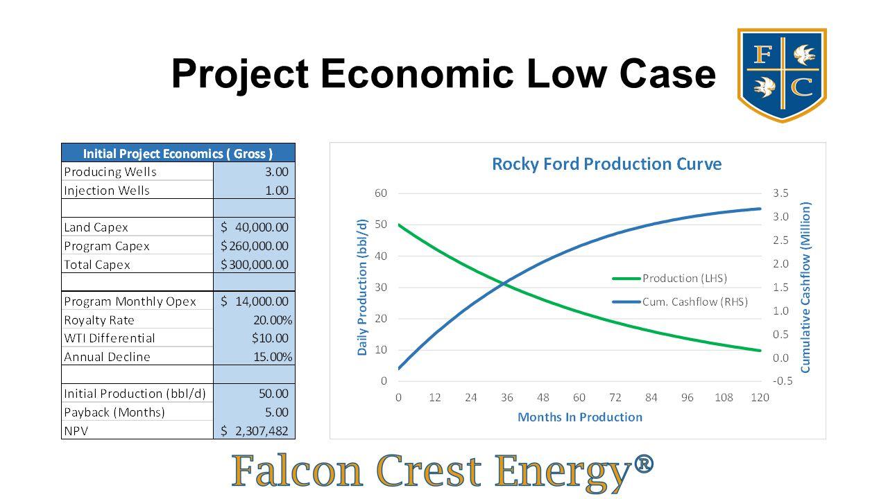 Project Economic Low Case