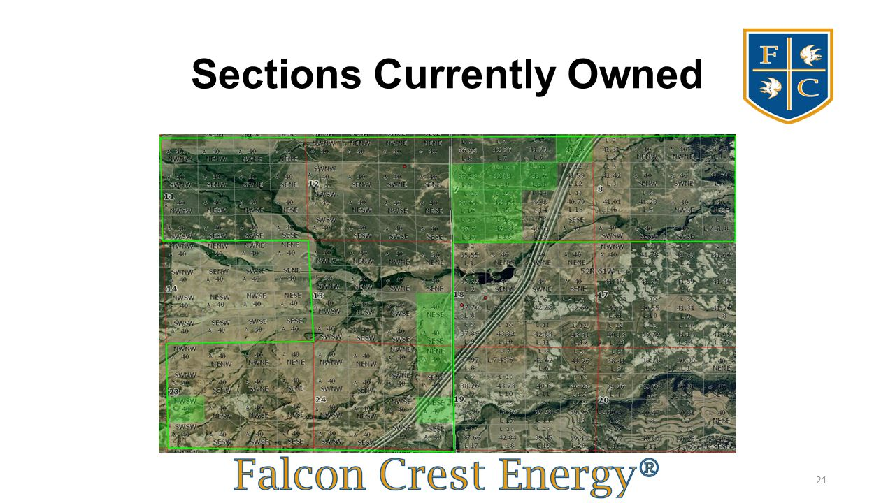 Sections Currently Owned