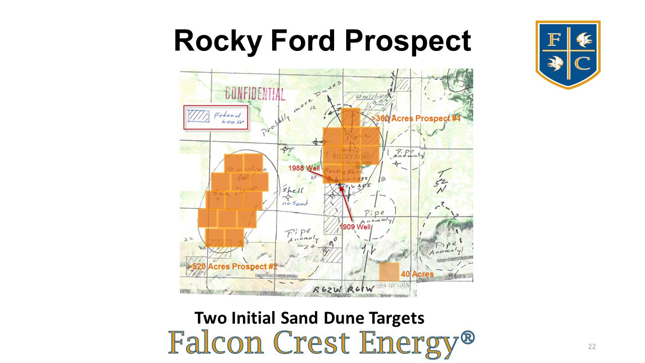 Rocky Ford Prospect Two Initial Sand Dune Targets