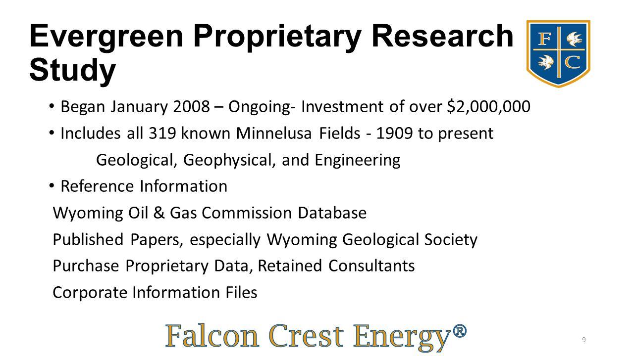 Evergreen Proprietary Research Study