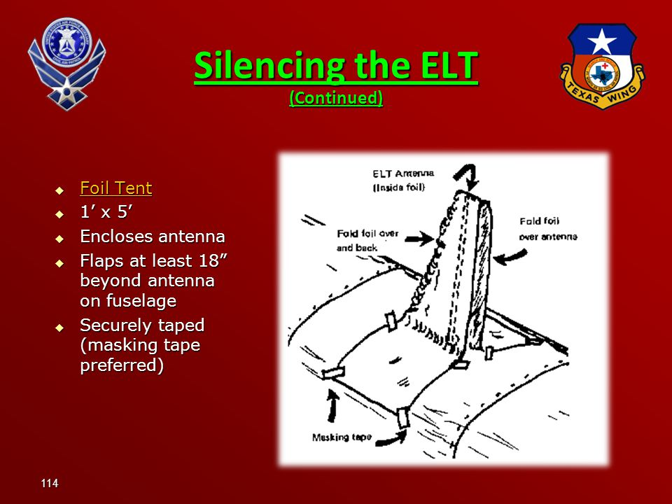 Silencing the ELT (Continued)