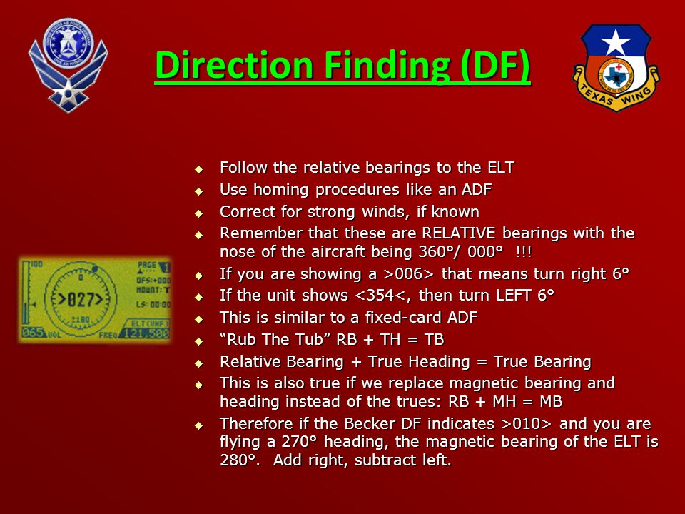 Direction Finding (DF)
