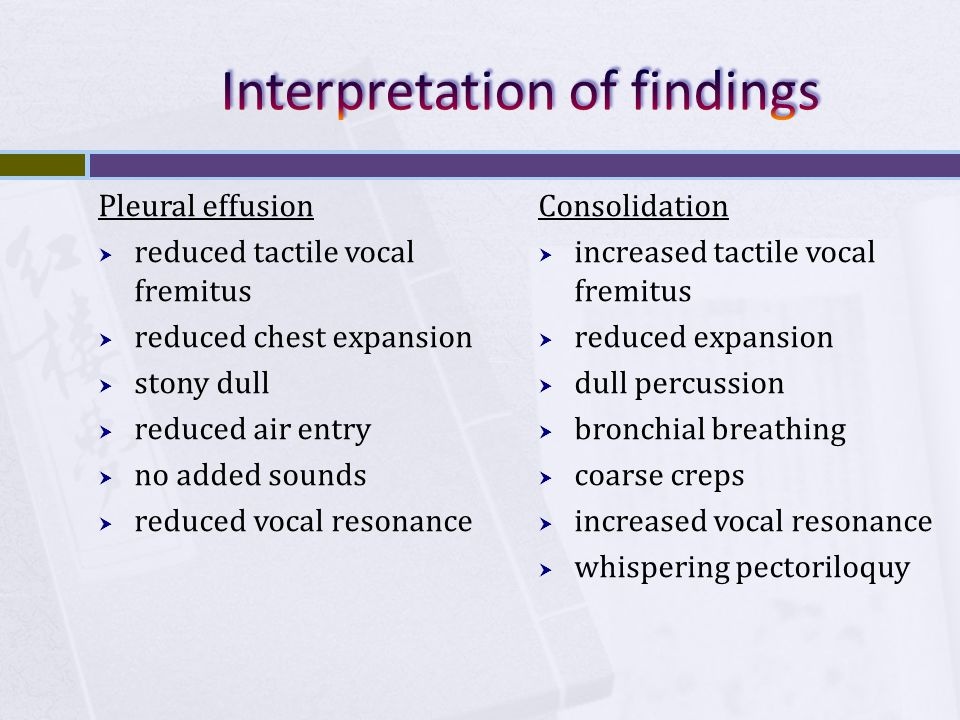 Interpretation of findings