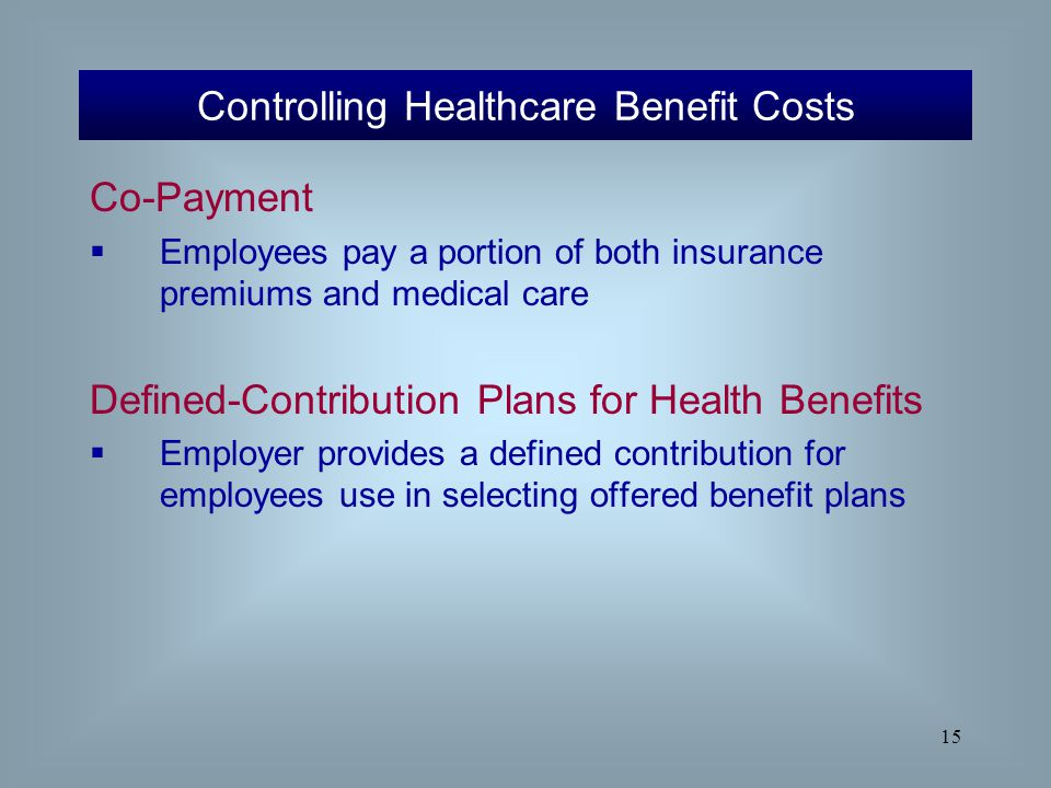 controlling employee health care cost essay Talk about healthcare crisis  do insurance companies and hmos use unfair  practices to control spending 5 should employers be required by law to offer  health insurance to employees 6 should employees be required by law to.