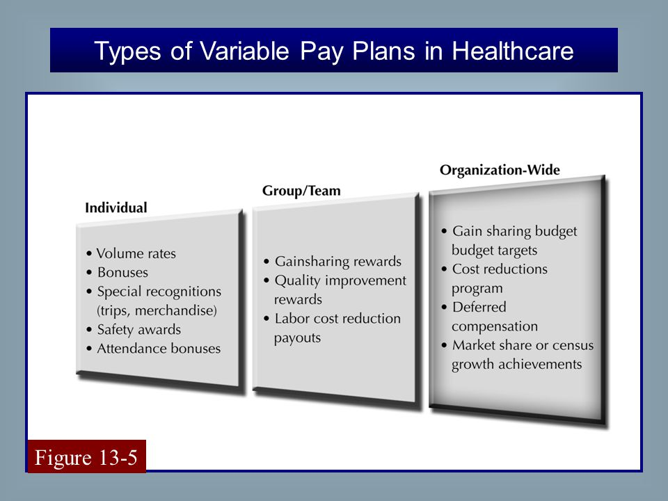 healthcare payment types Teaching healthcare  to various problems incorporating these reimbursement methodologies often fail to convey the dynamic nature of payment systems or.