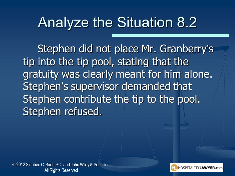 Analyze the Situation 8.2