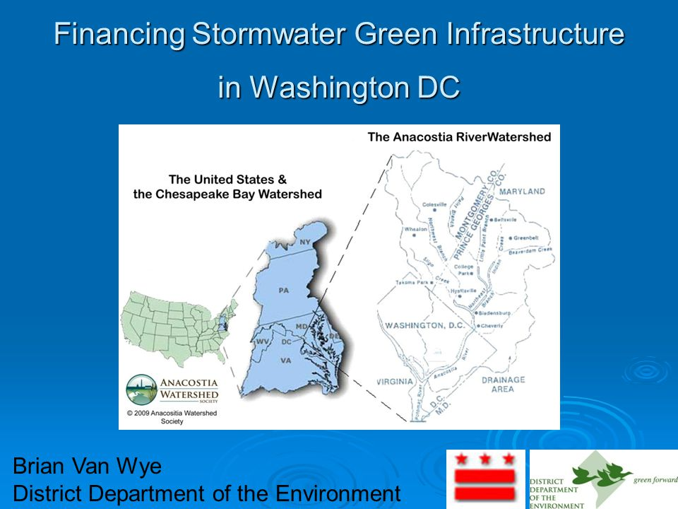 Financing Stormwater Green Infrastructure in Washington DC