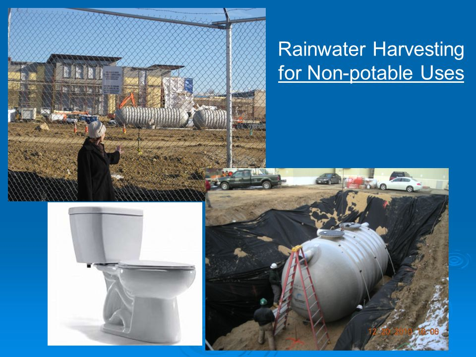 Rainwater Harvesting for Non-potable Uses