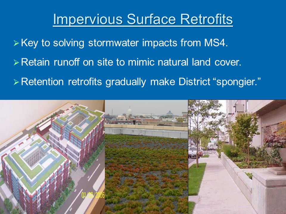 Impervious Surface Retrofits