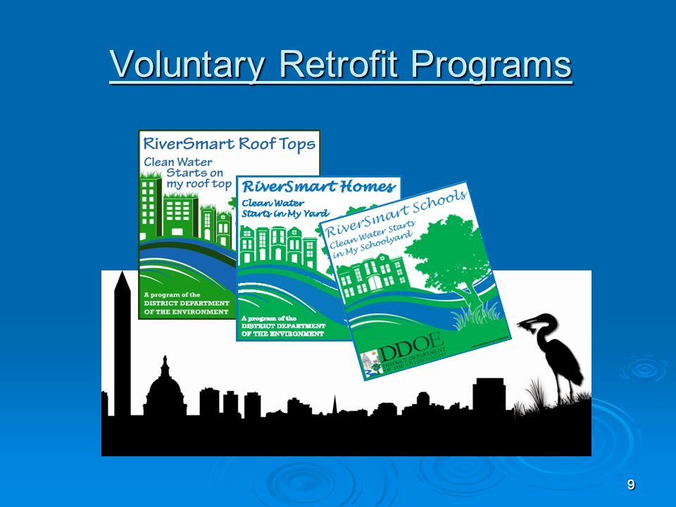Voluntary Retrofit Programs