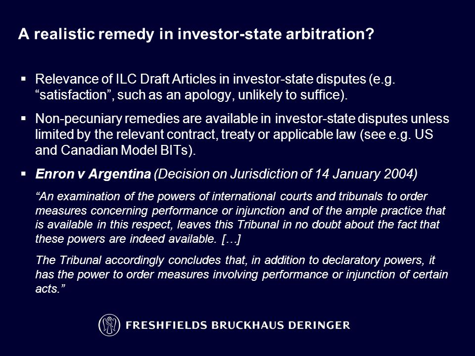 A realistic remedy in investor-state arbitration