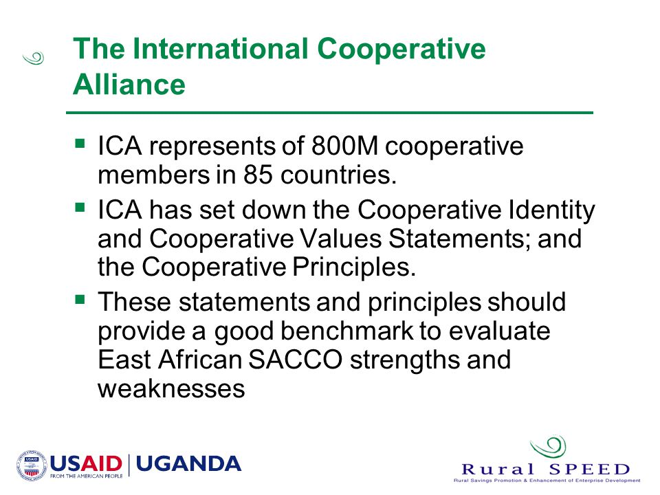 The International Cooperative Alliance