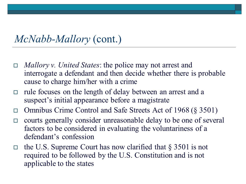 McNabb-Mallory (cont.)