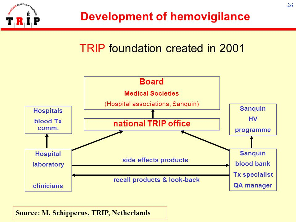Development of hemovigilance