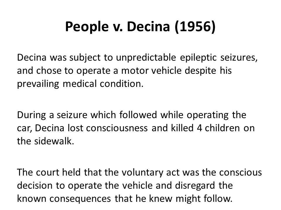 People v. Decina (1956)