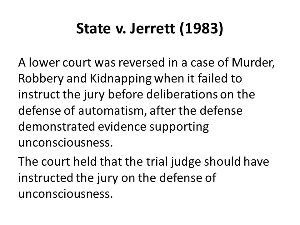 State v. Jerrett (1983)
