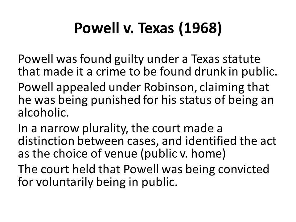 Powell v. Texas (1968)