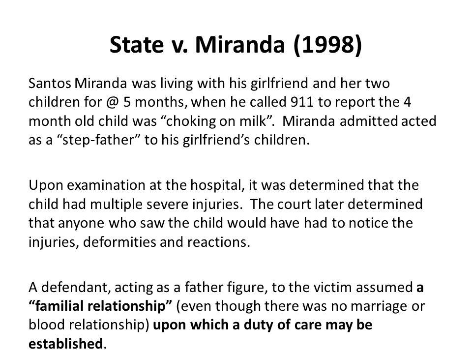 State v. Miranda (1998)