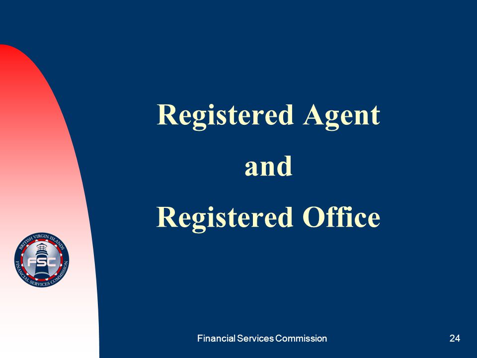 Registered Agent and Registered Office