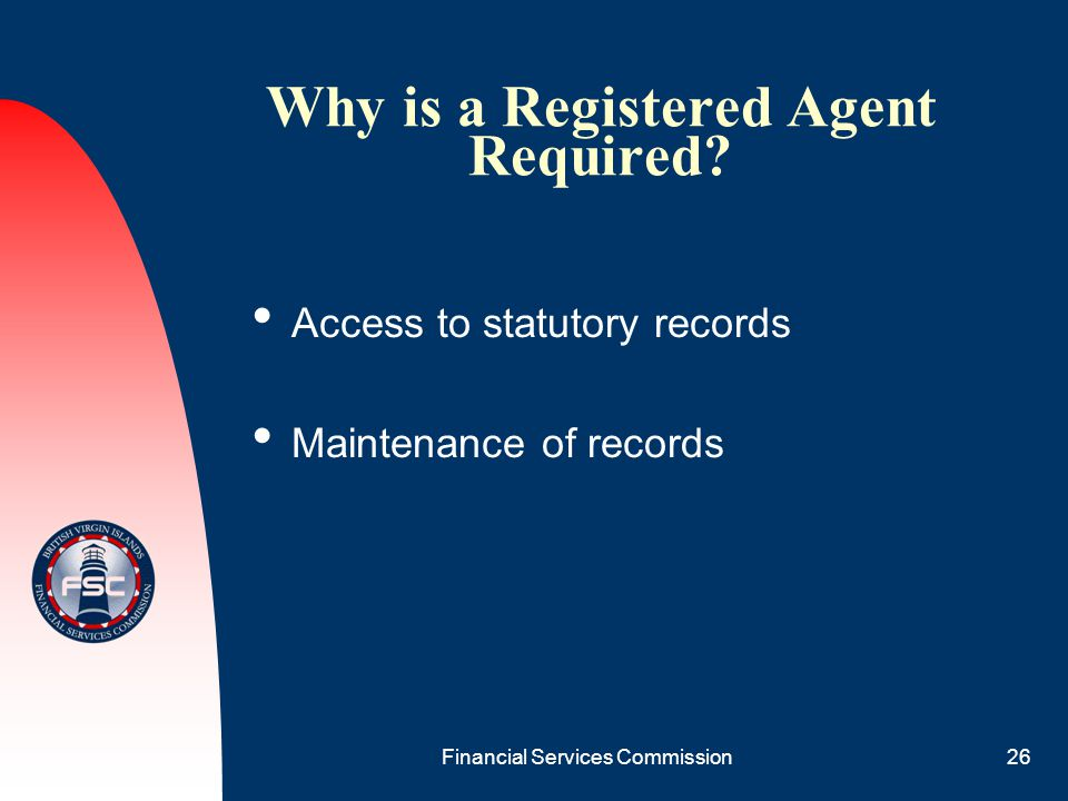 Why is a Registered Agent Required
