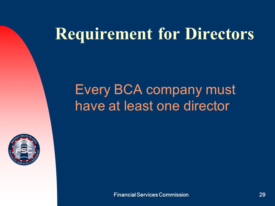 Requirement for Directors