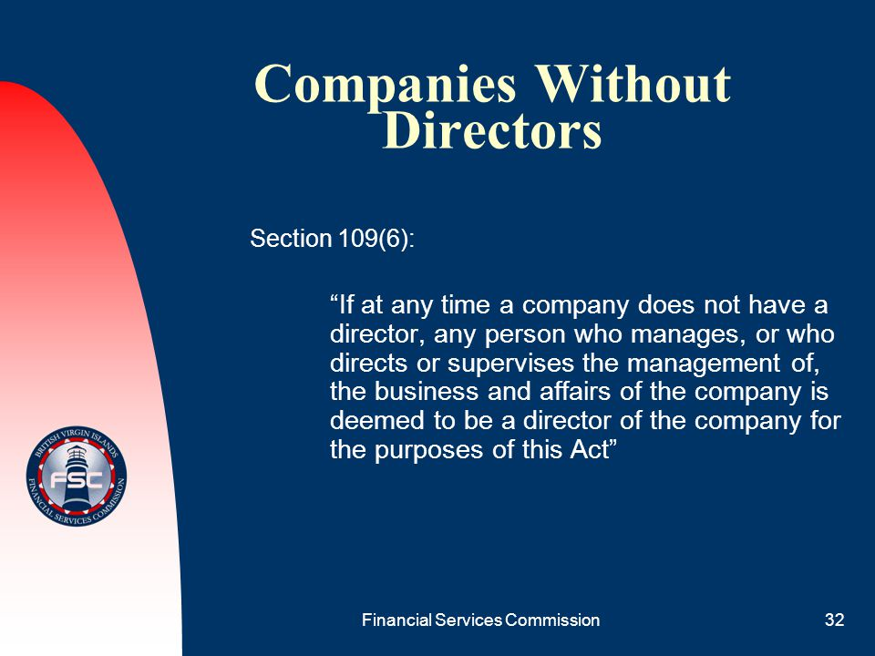 Companies Without Directors