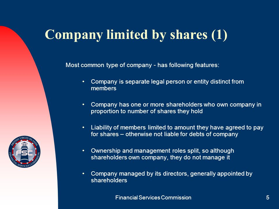 Company limited by shares (1)