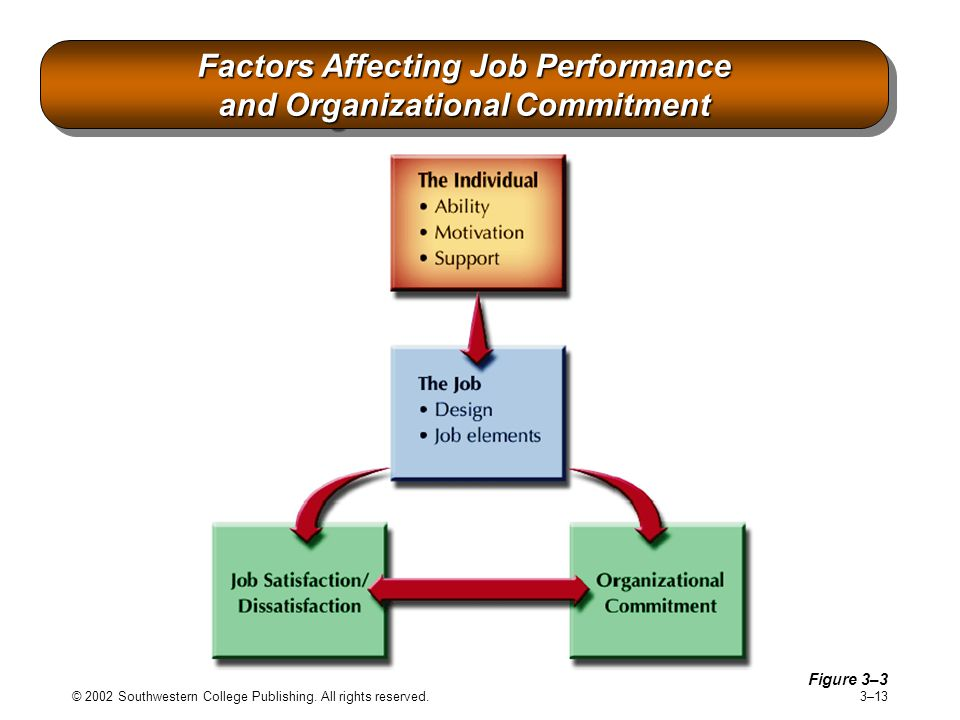 Factors Affecting Job Performance and Organizational Commitment