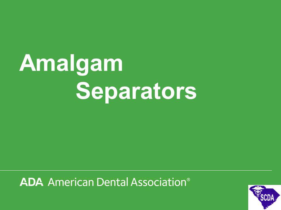 Amalgam Separators