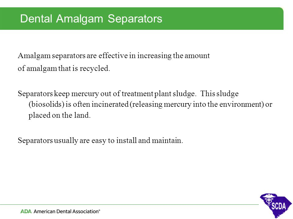 Dental Amalgam Separators