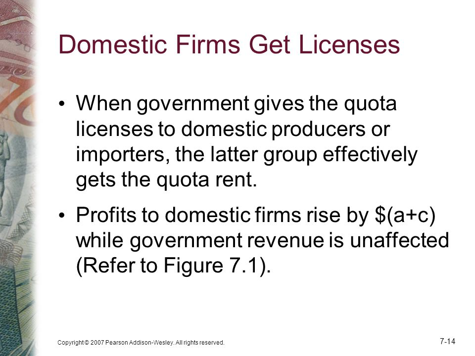 Domestic Firms Get Licenses