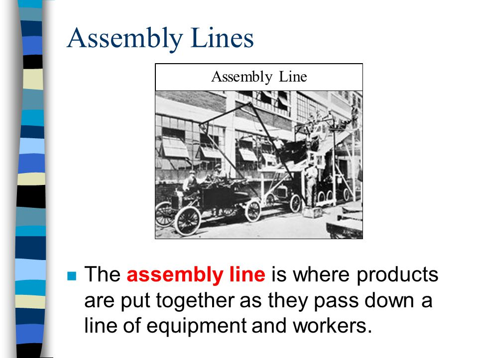 Assembly Lines Assembly Line.
