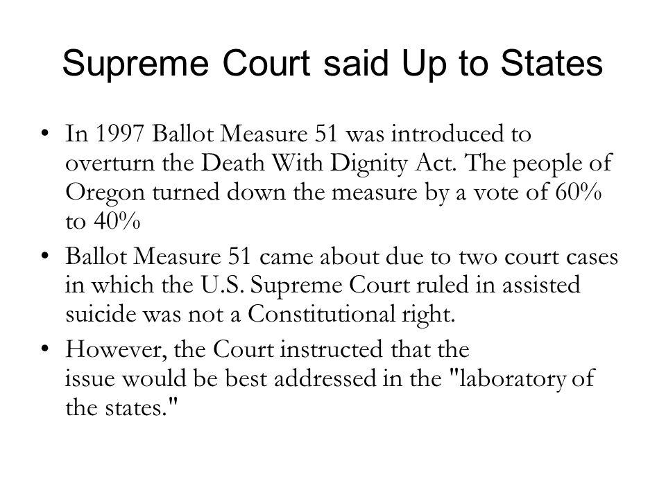 Supreme Court said Up to States