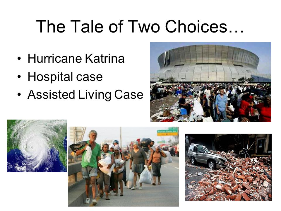 The Tale of Two Choices…