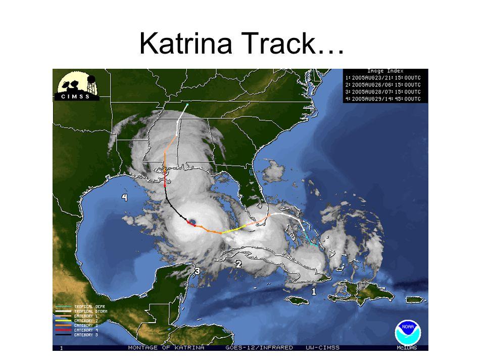 Katrina Track…