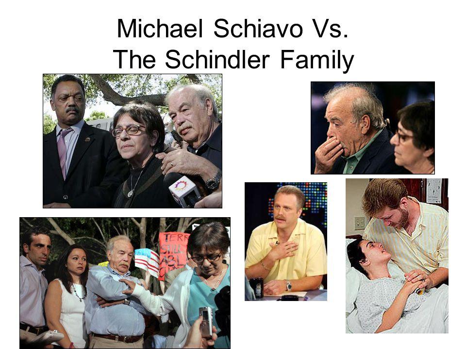 Michael Schiavo Vs. The Schindler Family