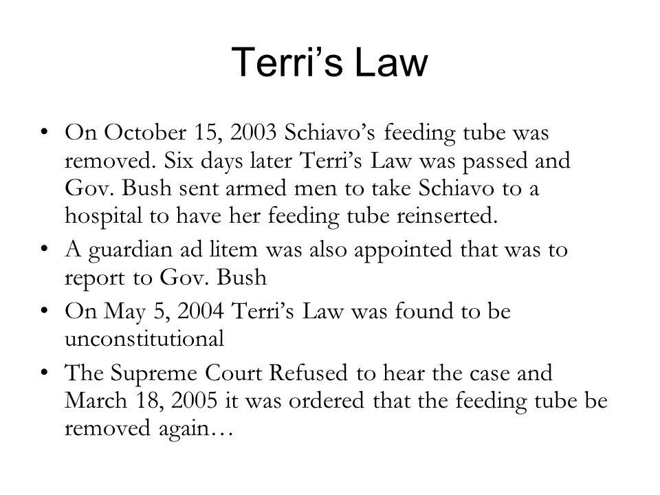 Terri's Law
